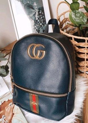Небольшой рюкзак из эко-кожи