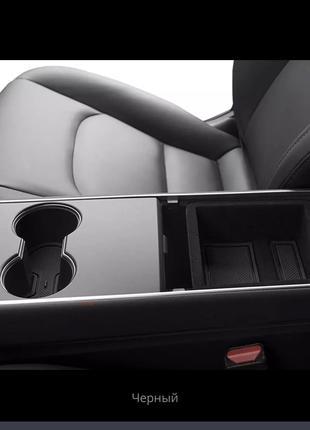 Коврики в центральную консоль Tesla Model 3
