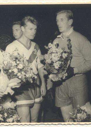 """Комплект 3 фотографий """"Динамо"""" Киев, чемпион СССР, 1961"""