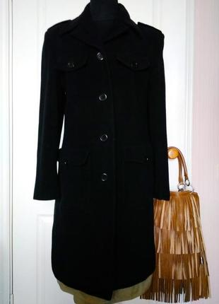 Number one by kappahl  стильное пальто с накладными карманами