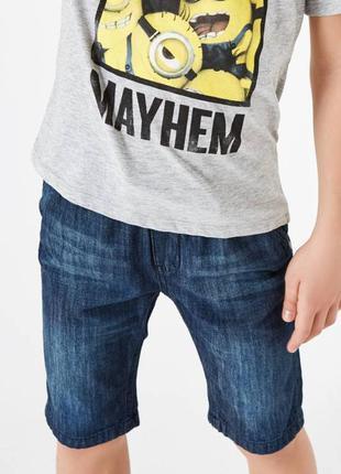 Новые джинсовые шорты terranova