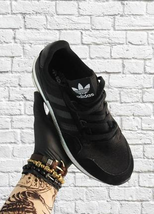 🔥 adidas zx 500 rm black white