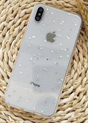 Чехол flower iphone x,  iphone xs star case
