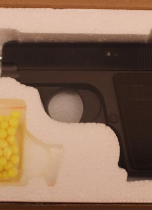 Детский игрушечный металлический пистолет ZM03 Браунинг М1906