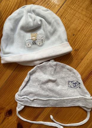 Шапочки для новорожденного мальчика