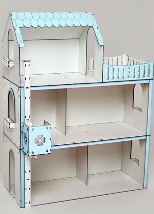 Кукольный домик для барби  и кукол до 33см. Развивающие игрушки.