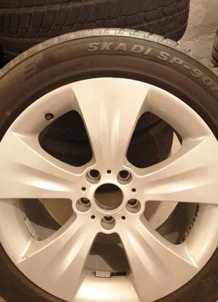 Диски и резина на BMW X5