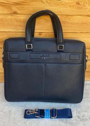Мужской деловой портфель сумка для работы офиса офисная чолові...