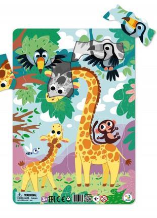 Пазл рамочный Жираф