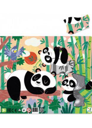 Пазл рамочный Панды