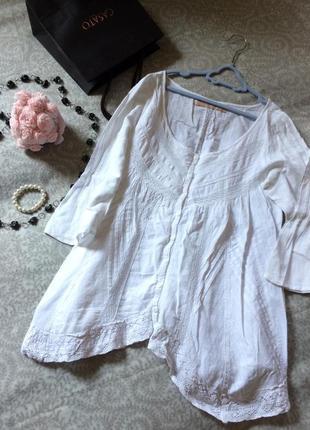 Блузка culture белая размер м