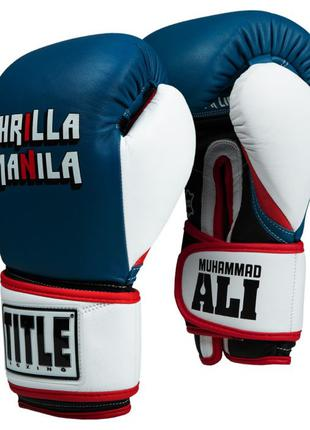 Боксерские перчатки Title серия Muhammad Ali, TITLE PRO MEX