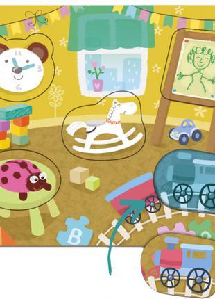 Пазл-сортер Детская комната