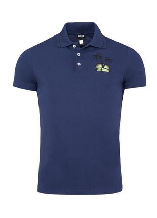 Мужская футболка тенниска поло Just Cavalli  S 48, X924 Оригинал