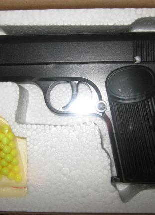 Пистолет игрушечный ZM 06 пластик - металл