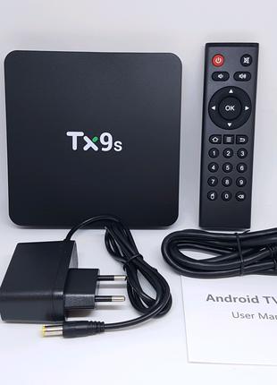 Медиа приставка TV box Tanix Tx9s 2/8Gb смарт ТВ Smart TV