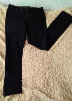 Штаны мужские коттоновые черные