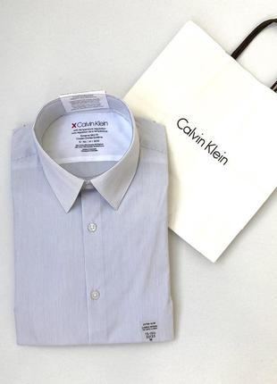 Рубашка мужская calvin klein  extreme slim fit кельвин кляйн  ...
