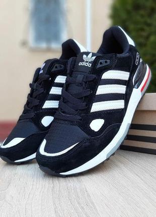 Кроссовки adidas zx 750 черные 🌶