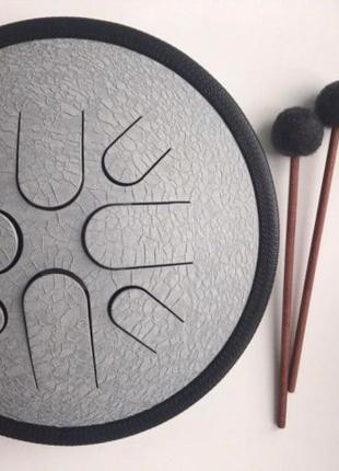 Глюкофон, бюджетный ханг (hang drum), 8 лепестков, новый