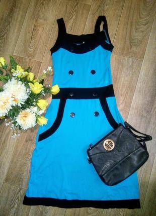 Лёгкое удобное летнее платье-миди