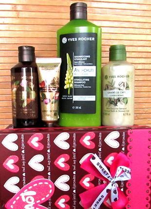 Подарочный набор Аргания Роза косметика Ив Роше Yves Rocher