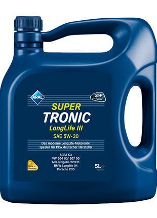 Моторное масло Aral 5w30 Super Tronic Longlife III 5л