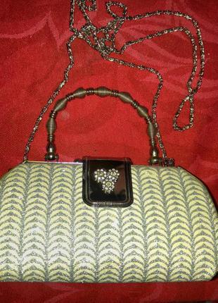 Шикарная сумка#сумочка-клатч.