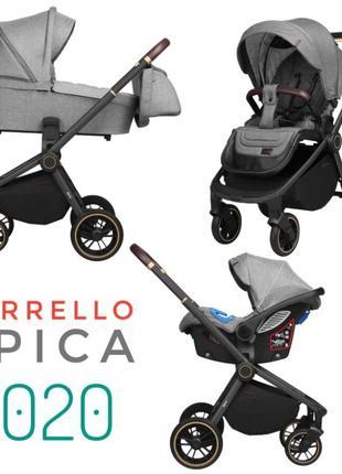 Универсальная коляска 3 в 1 с автокреслом CARRELLO Epica