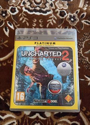 Uncharted 2 игра для playstation 3