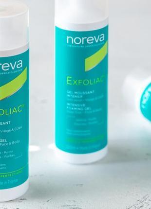 Гель для умывания noreva exfoliac