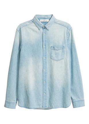 Джинсовая рубашка h&m !