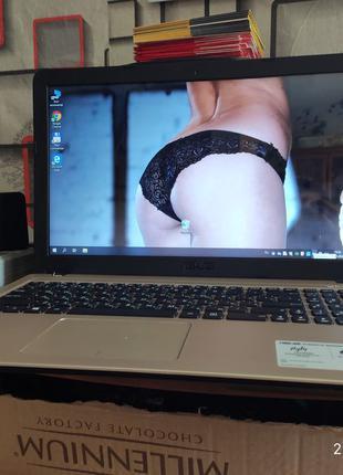 Игровой Ультрабук Asus X540s/4 ГБ/500 ГБ/Intel N3050/GT 810MX 1GB