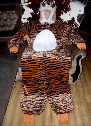 Супер-качественный костюм тигр на рост 170 см для аниматоров