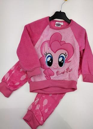 Детская пижама теплая