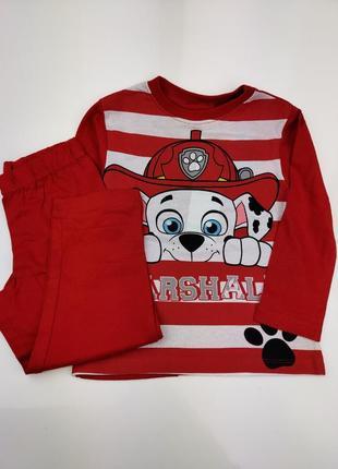 Детская пижама щенячий патруль дисней