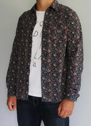 Рубашка ralph lauren denim&supply floral print buttom shirt