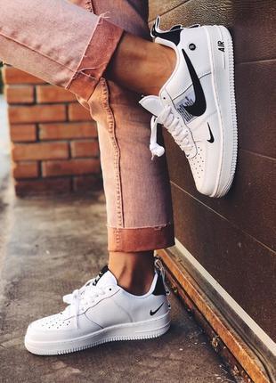 Nike air force 1 low white black