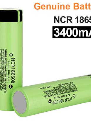 Батарейка для фонарика или ноутбука 18650 Panasonic 3.7В 3400 mAh