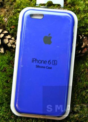 Чехол для iPhone 6S силиконовый⠀