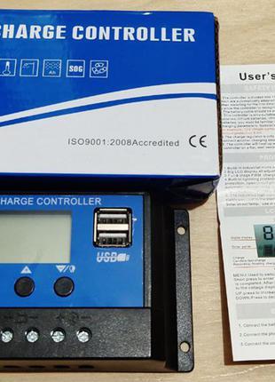 Контроллер для солнечной батареи 12/24 В, 30 А (PWM)