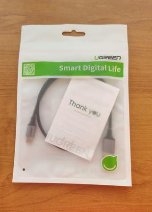 Кабель Провод для зарядки телефона Ugreen TOPK USB-Type C Type C