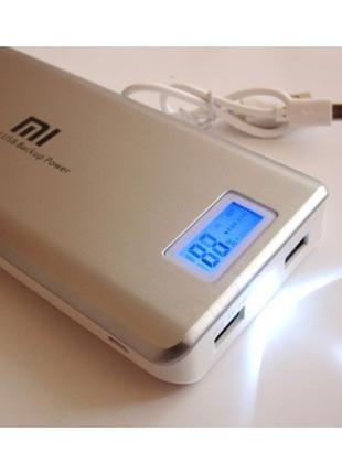 Портативные зарядные PowerBank Xlaomi Mi 2 USB + Экран 28800mAh
