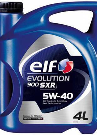 Моторное масло ELF 5w40 Evolution 900 SXR 4л