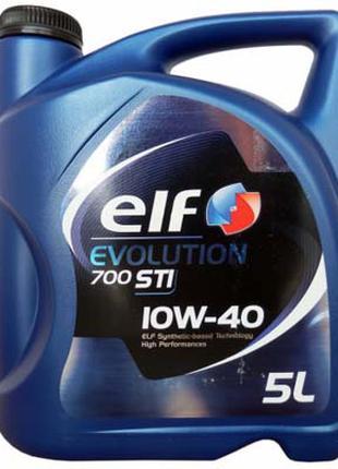 Моторное масло ELF 10w40 Evolution 700 STI 5л