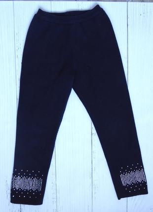 Теплые штаны зима-осень девочке 110-116
