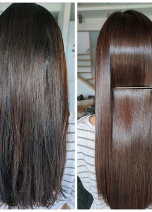 Кератиновое восстановление, ботокс и нанопластика волос