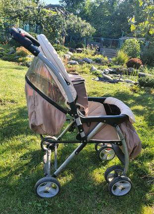 Carello quatro  прогулочная коляска бежевая бесплатно даром