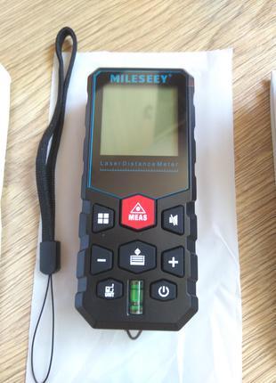 Лазерна рулетка 80м / дальномер / мультиметр / Mileseey