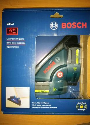 Новый BOSCH GTL2 Уровень лазерный угольник кутник 90